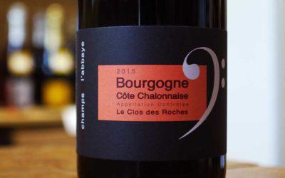 Bourgogne Côte Chalonnaise 2015 – Le Clos des Roches