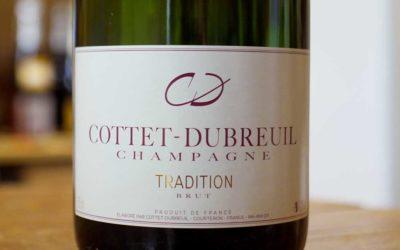 Champagne Tradition Brut – Cottet-Dubreuil