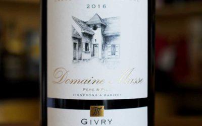 Givry Village 2016 – Domaine Masse