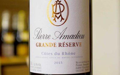 Côtes du Rhône Grande Réserve 2015 – Maison Amadieu