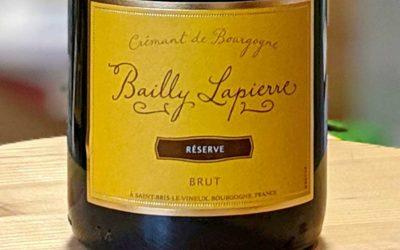 Crémant Réserve Brut – Bailly Lapierre