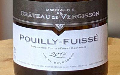 Pouilly-Fuissé 2017 – Château de Vergisson