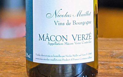 Mâcon Verzé 2017 - Nicolas Maillet