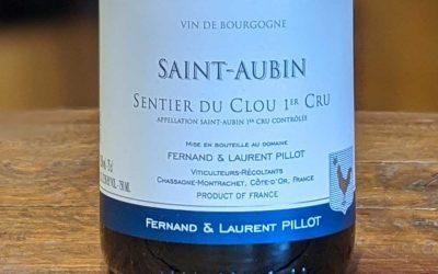 Saint Aubin Sentier du Clou 1er Cru 2017 - Fernand et Laurent Pillot