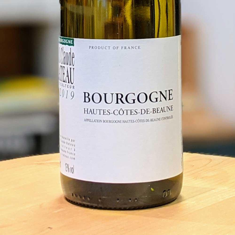 Hautes-Côte-de-Beaune 2019 - J.Claude Rateau