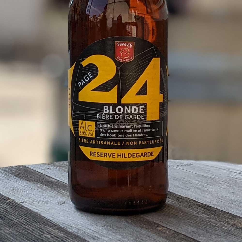 24 Blonde 33cl Réserve Hildegarde