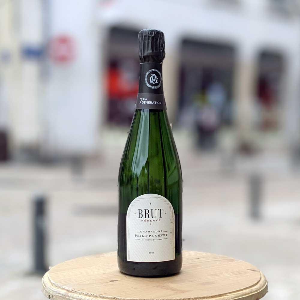 Champagne Brut Réserve - Philippe Gonet